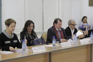 Члены жюри по специальности «Духовые инструменты, ансамбли духовых инструментов» в Якутске