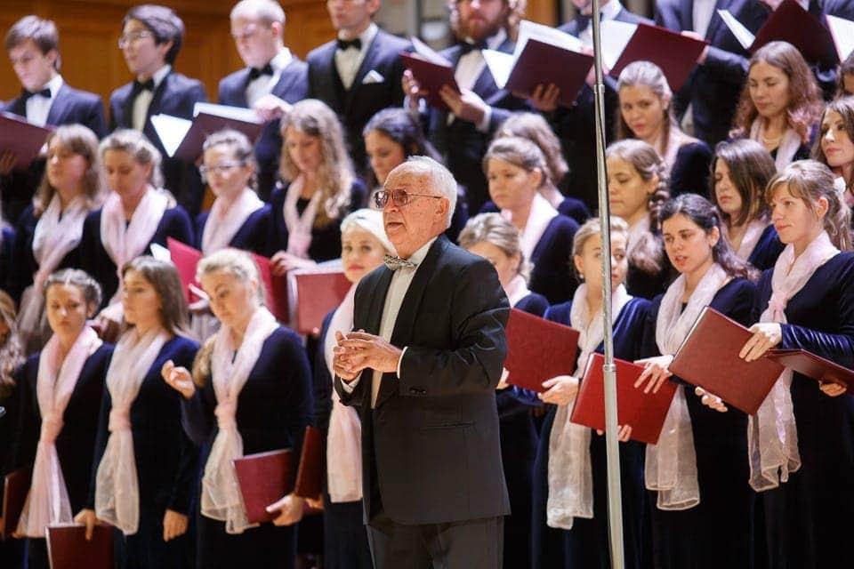 Двойной юбилей отмечает заведующий кафедрой хорового дирижирования МГК Станислав Калинин