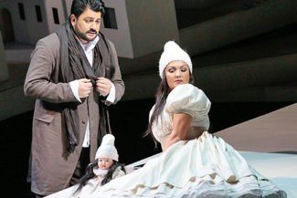 Юсуф Эйвазов и Анна Нетребко. Фото - Дамир Юсупов