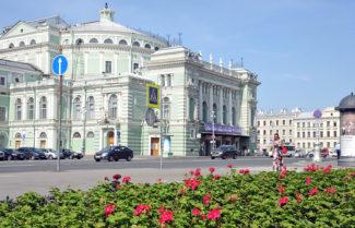 Мариинский театр. Фото - Юрий Белинский/ТАСС