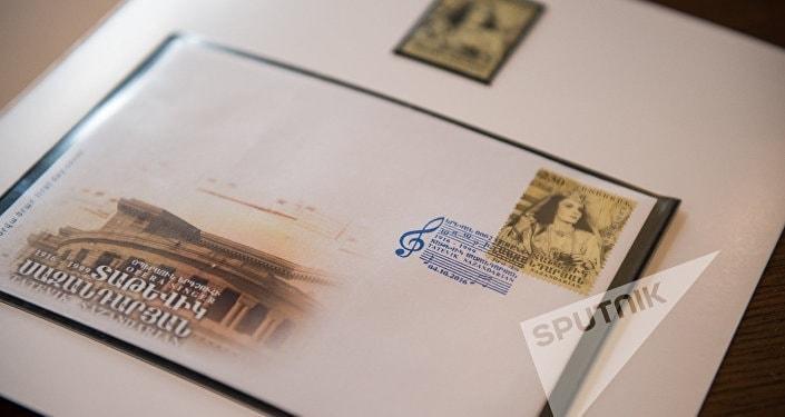 """Выпущены юбилейные марки в честь """"соловья"""" армянской оперы"""