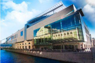 Новая сцена стала третьим по счету зданием театра. Фото - пресс-служба Мариинского театра