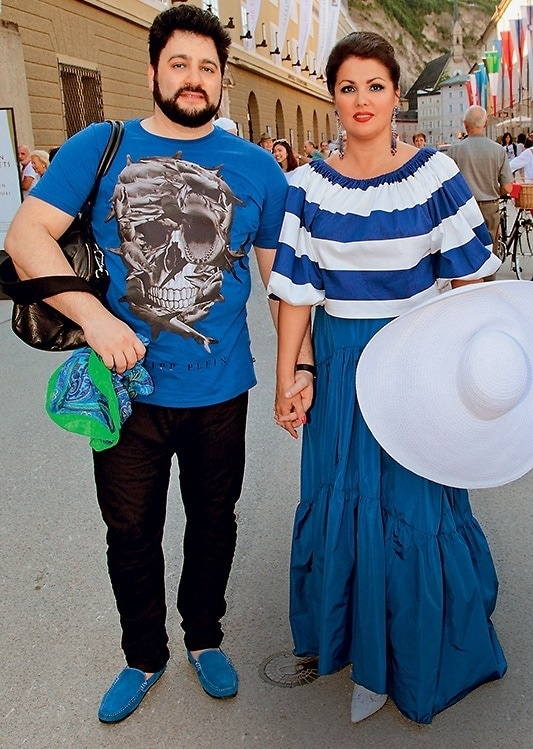 Юсиф Эйвазов и Анна Нетребко в Зальцбурге, 2016