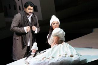 Юсиф Эйвазов и Анна Нетребко. Фото - Дамир Юсупов