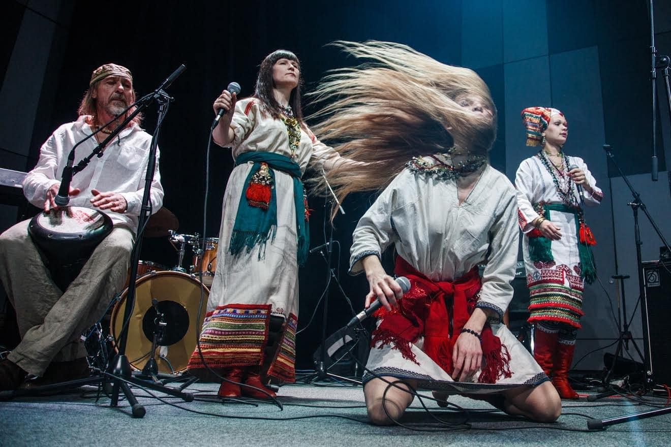 Фольклорный рок-коллектив OYME