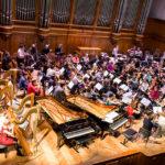 В Большом зале консерватории оркестр «Персимфанс» порадовал публику числом и умением