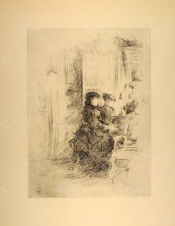 Литография «Piano Duet Women» James McNeill Whistler, 1914