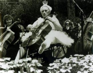 Мстислав Ростропович исполняет «Лебедь» Сен-Санса на юбилее Исаака Стерна. Сан-Франциско, 1990 год
