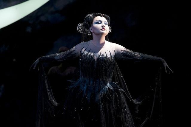 Альбина Шагимуратова в роли Царицы ночи в опере «Волшебная флейта». Фото - Mike Hoban