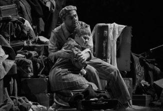 "Сцена из спектакля ""Пассажирка"". Фото - С. Гутник"