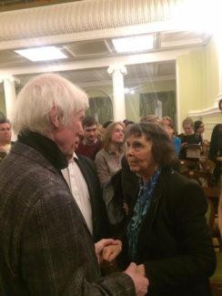 Владимир Тонха и София Губайдулина. Фото - Анна Тонха