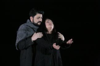 На сцене Большого Анна Нетребко и Юсиф Эйвазов предстали спаянным дуэтом Манон и де Грие. Фото - Дамир Юсупов