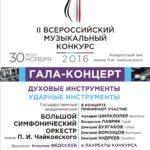 Лучших солистов и ансамбли духовых инструментов России назовут 30 ноября