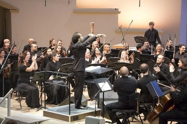 Азербайджанский государственный симфонический оркестр п/у Фуада Ибрагимова