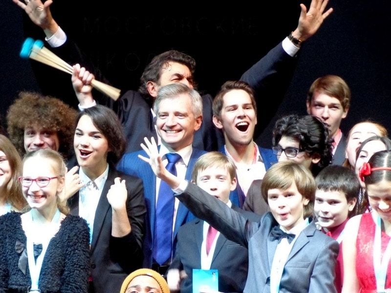 В Театре «Геликон-опера» вручили гранты Мэра Москвы. Фото - Алла Буловинова