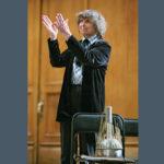 На этом аквафоне Губайдулина сыграла в московской Консерватории. Фото: Сергей Савостьянов/ТАСС