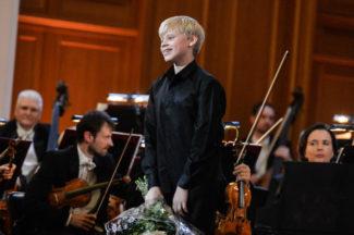 Александр Малофеев на Международном конкурсе молодых пианистов Grand Piano Competition. Фото - РИА Новости