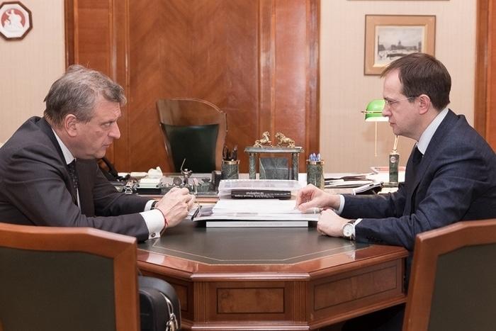 Игорь Васильев и Владимир Мединский