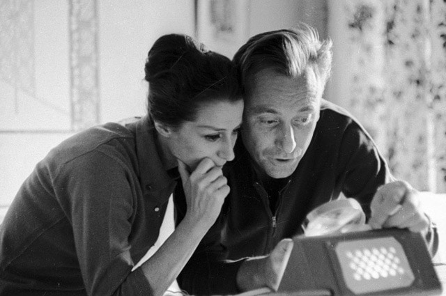 Майя Плисецкая и Родион Щедрин у себя дома, 1971 год. Фото - РИА Новости/ Александр Макаров