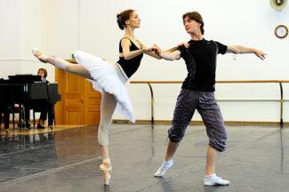 Светлана Захарова и Владислав Лантратов