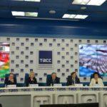 В ТАСС состоялась пресс-конференция, посвященная проведению в Астане юбилейного X Международного юношеского конкурса имени П. И. Чайковского.