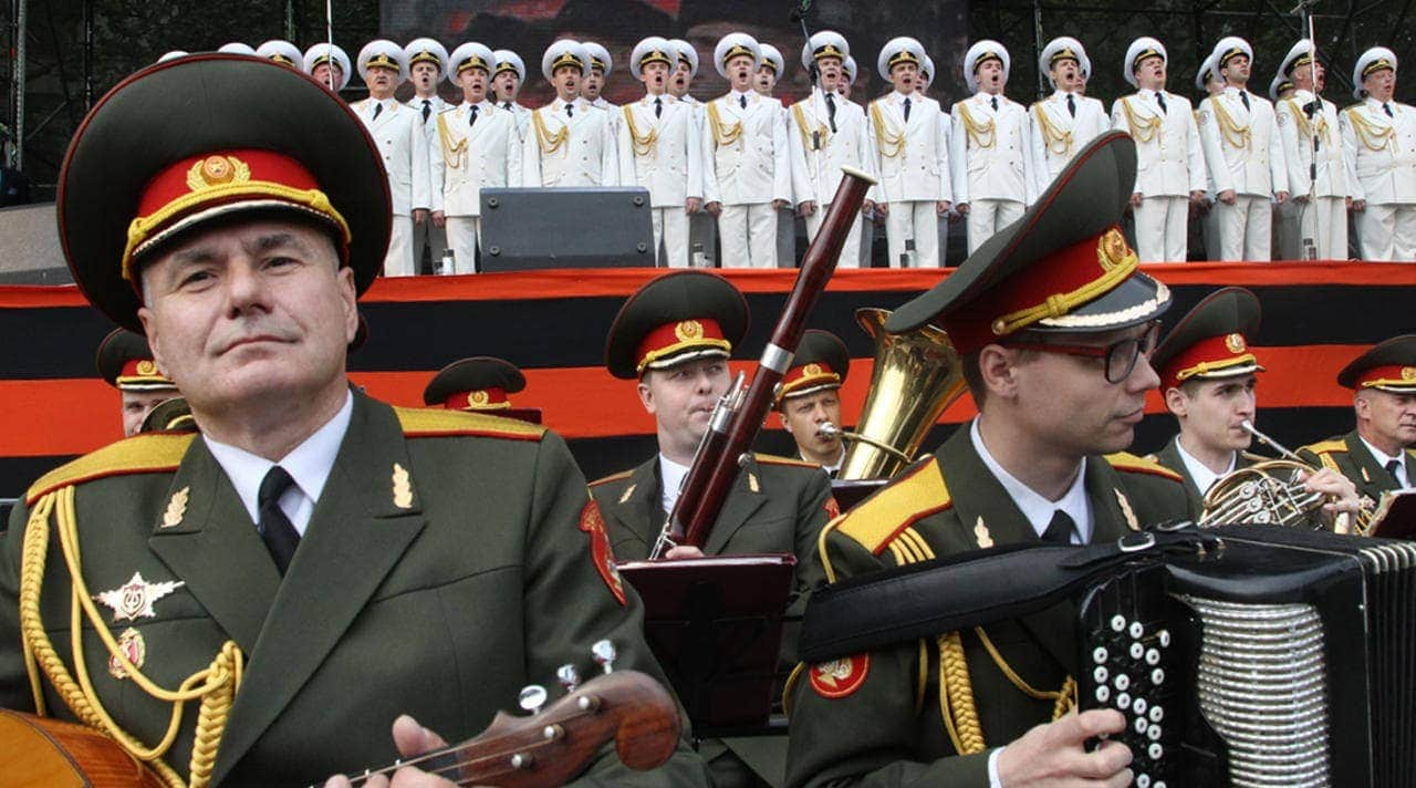 Ансамбль имени Александрова. Фото - Андрей Епихин