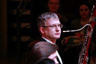 Андрей Рудометкин (фагот). Фото - Ирина Шымчак