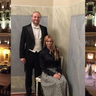 Владимир Дмитрук с женой Евгенией Ширинянц