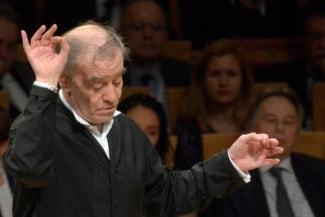 На Валерии Гергиеве лежала дополнительная ответственность – концерт транслировался в прямом эфире на весь мир. Фото - Валентин Барановский
