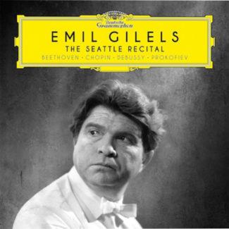 """Компакт-диск """"Emil Gilels. The Seattle Recital"""""""