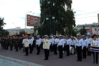Международный фестиваль духовых оркестров имени В. И. Агапкина. Фото - Лариса Щербинина