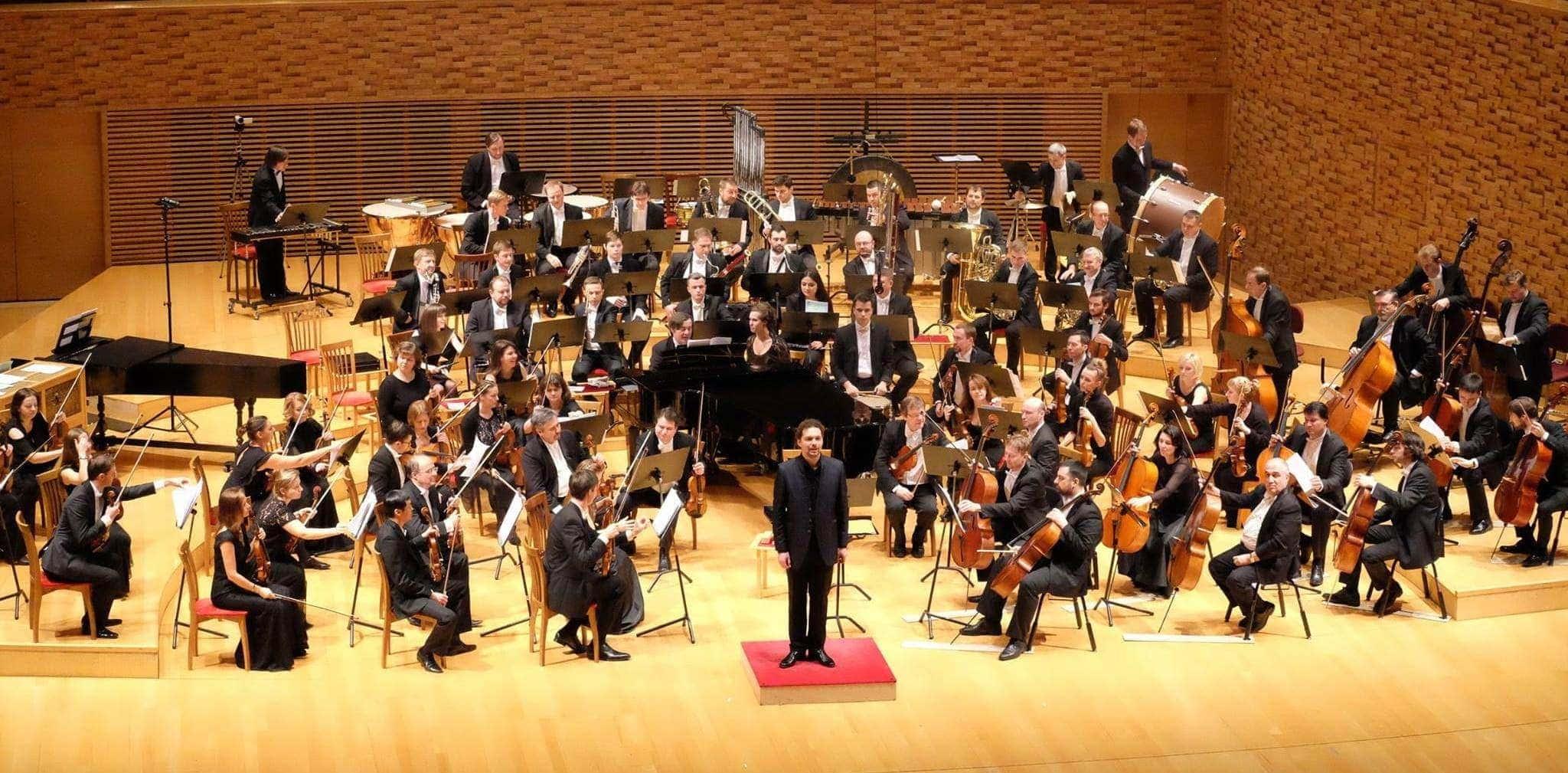 Николай Хондзинский и оркестр Мариинского театра