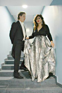Дмитрий Корчак и Вероника Джиоева. Фото - Ирина Шымчак