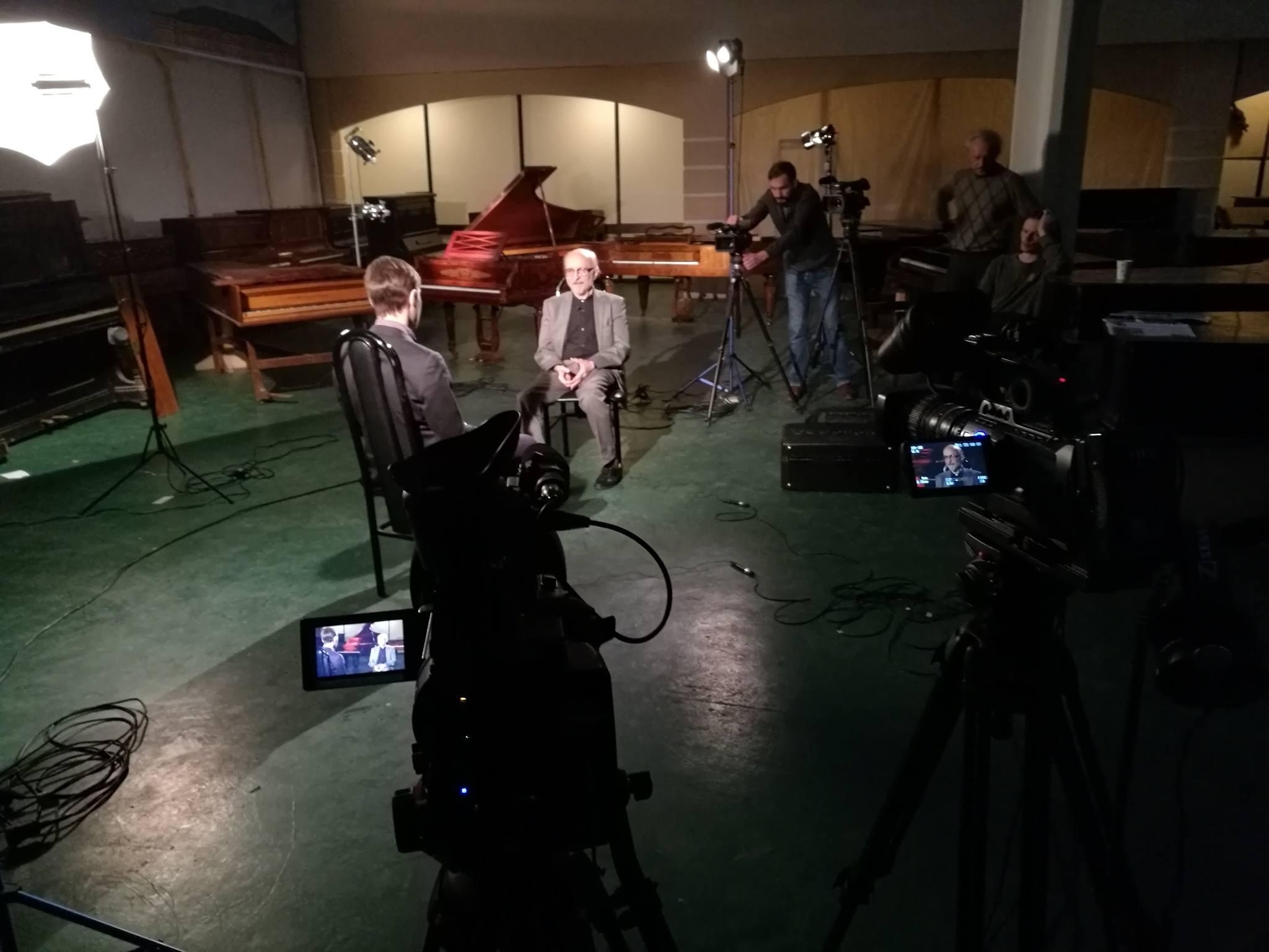 Алексей Любимов дает интервью Ярославу Тимофееву