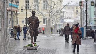 Памятник Прокофьеву в Камергерском переулке. Фото - ИЗВЕСТИЯ/Зураб Джавахадзе
