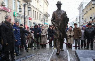 Памятник Сергею Прокофьеву открыли в Москве. Фото - Вячеслав Прокофьев