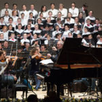 Открытие филармонии состоялось с участием Мариинского оркестра и Сводного детского хора Республики Северная Осетия - Алания. Фото - Александр Шапунов
