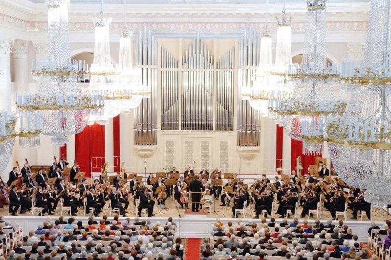 ЗКР АСО Санкт-Петербургской филармонии п/у Юрия Темирканова
