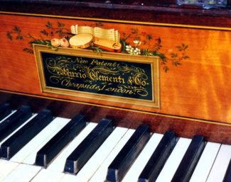 Фортепиано фирмы Клементи