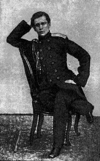 """Цезарь Кюи в молодости. Фото из книги Ц. А. Кюи, """"Избранные статьи"""""""