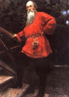 В. В. Стасов на портрете кисти Ильи Репина: таким он стал в 80-х годах