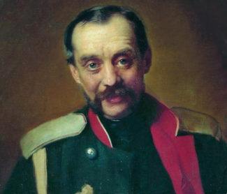 Ц. А. Кюи, с портрета К. Маковского