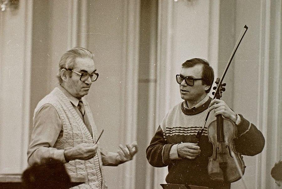 Скрипач Виктор Королев/ Фото - из архива ТОГФ