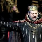 """Ильдар Абрдазаков в роли Филиппа II в опере """"Дон Карлос"""""""