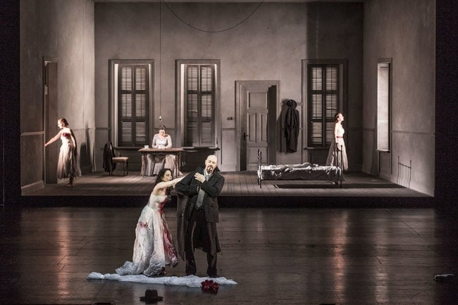 «Замок герцога Синяя Борода» Б. Бартока на фестивале в Брно. Фото - Janáčkova opera NdB / Marek Olbrzymek