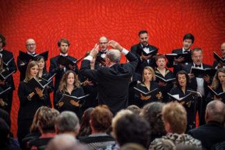 Хор А. Шенберга на фестивале в Брно. Фото – Janáčkova opera NdB / Marek Olbrzymek