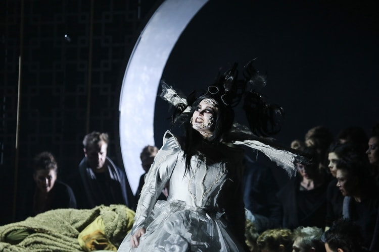 """""""Турандот"""" в Геликон-опере. Фото - Анна Молянова"""