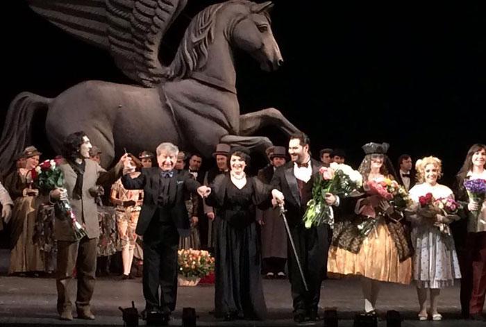 «Сказки Гофмана» в Театре Станиславского. Фото - facebook.com/stanislavskymusic