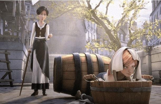В мультфильме «Балерина» голосом Илзе Лиепы говорит строгая балетная наставница Одетта. Фото - кадр из мультфильма