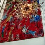"""Марк Шагал, фреска """"Триумф музыки"""", 1966 год"""